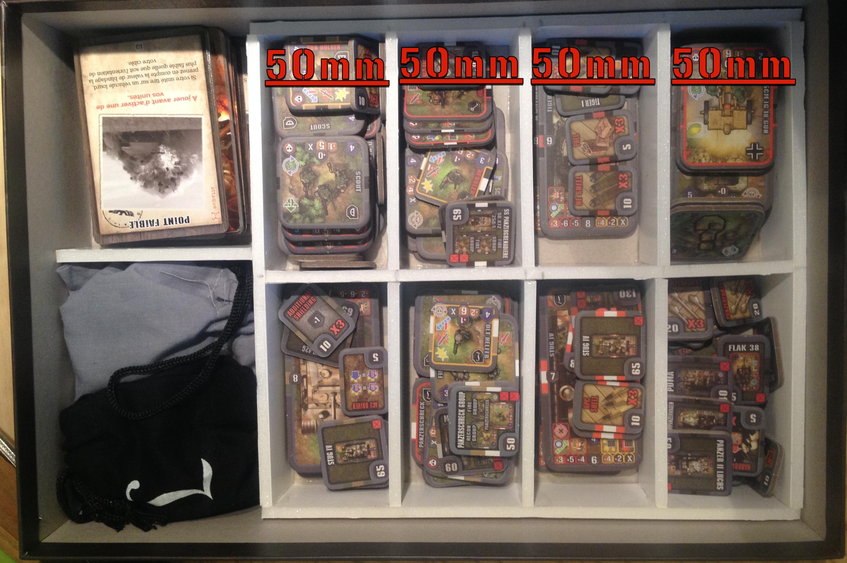 Bricolage] Rangement de mon army box allemande…  Heroes Of ...